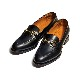 98689 / BLACK (LEATHER SOLE)