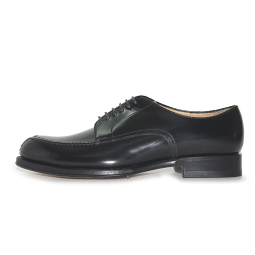 98313 / BLACK HIGH SHINE (LEATHER SOLE)