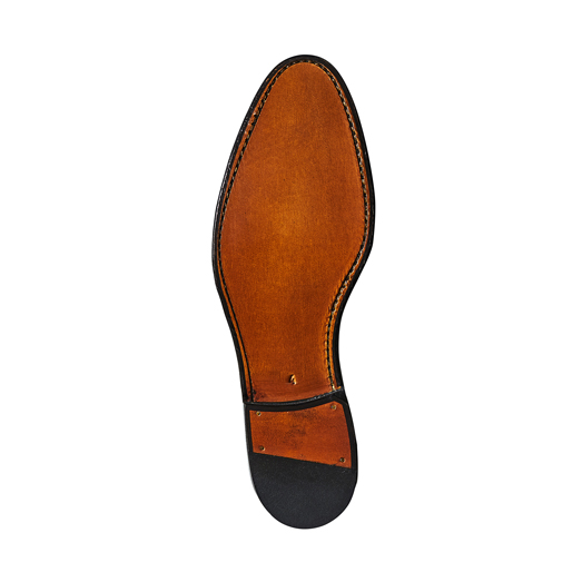 98967 / DARK BROWN CROCODILE STAMP (LEATHER SOLE)