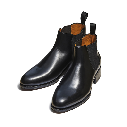 98677 / BLACK (LEATHER SOLE)