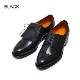 【SALE】 98736 / NAVY & WHITE (LEATHER SOLE)