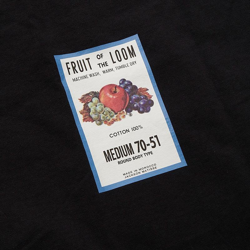 FRUIT OF THE LOOM ×JM Logo 2Pack Tee