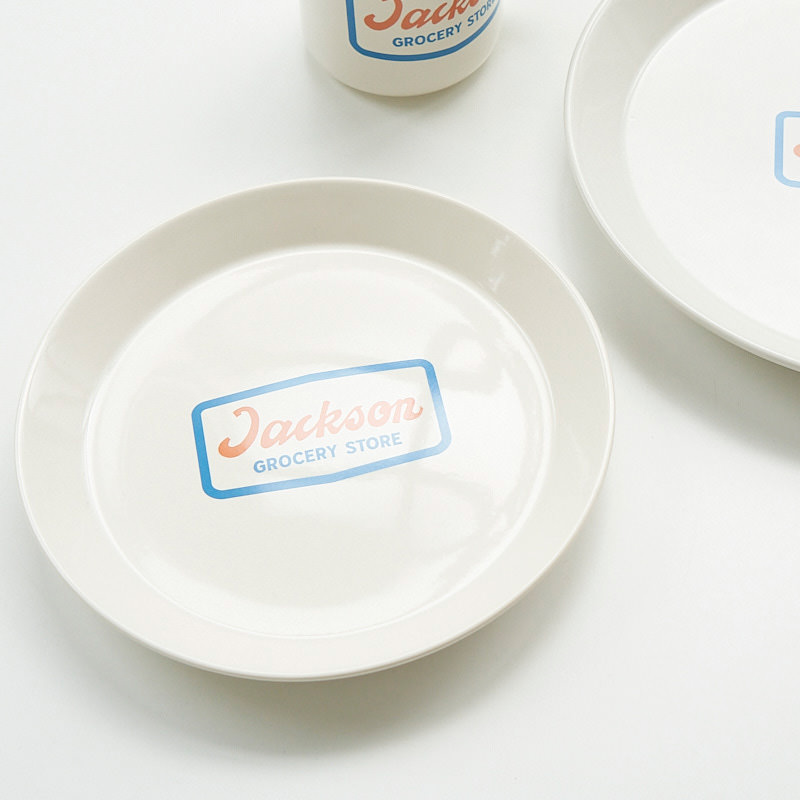 PALOMA SIGNS×JM Jackson GROCERY STORE Plate M