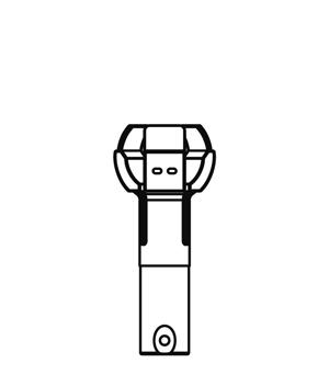 ランプチェンジャー用キャッチヘッド DLC-CH11