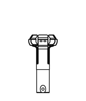 ランプチェンジャー用キャッチヘッド DLC-CH12