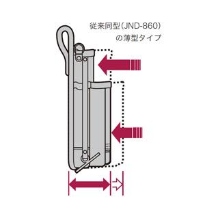 電工プロキャンバスポーチ(薄型) JND-860U