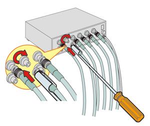 BNCコネクタセッター LDC-200B
