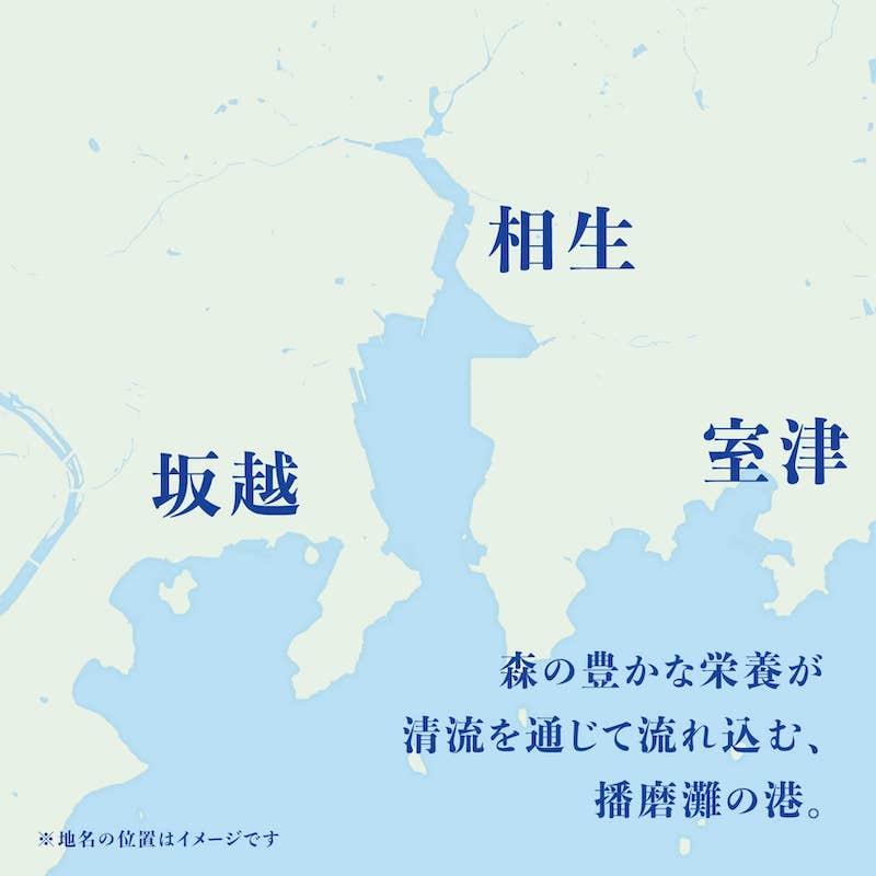 室津・相生・坂越の一年牡蠣の名産地