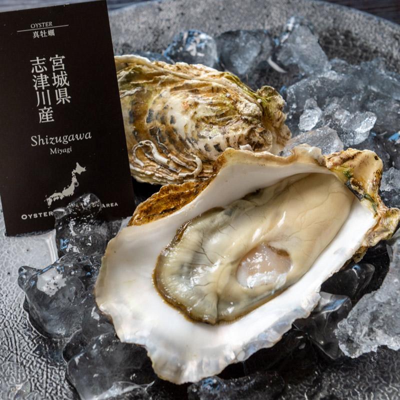 《宮城県志津川産》真牡蠣 『モン・サン・リック』6個より承ります