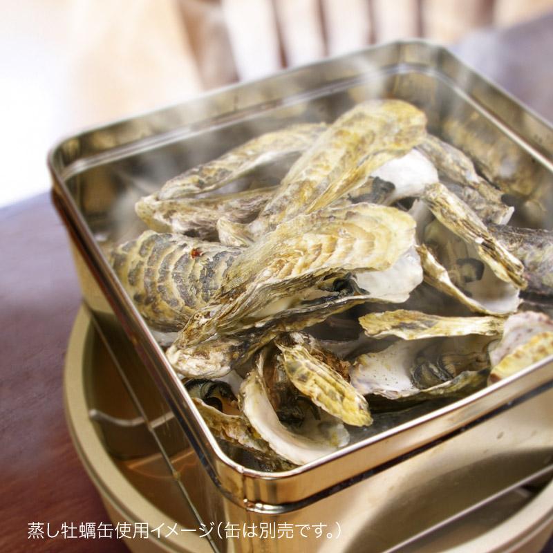蒸し牡蠣用5L缶単品