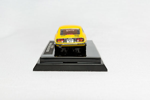 日産フェアレディZミニカー(黄) N2d11th