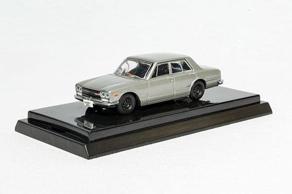 日産スカイラインGT-Rミニカー(69年式・シルバー) N2d11th