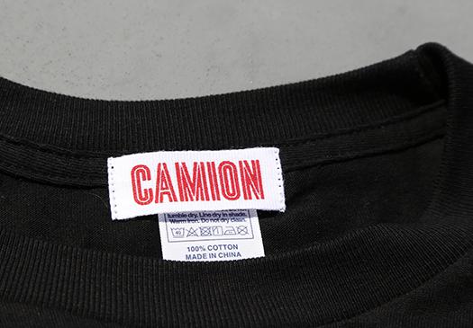 「カミオン」オリジナルロゴTシャツ