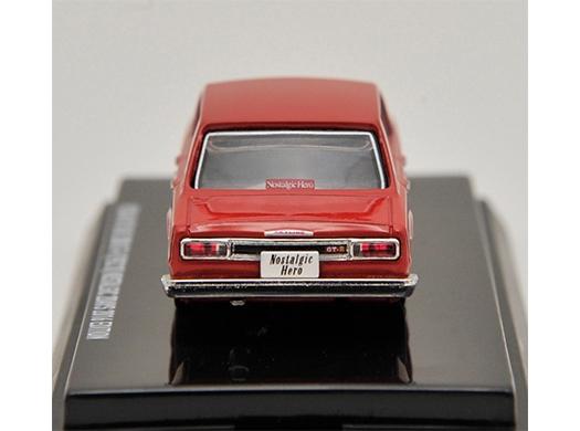 ハコスカ4ドアGT-Rミニカー(赤) N2d8th