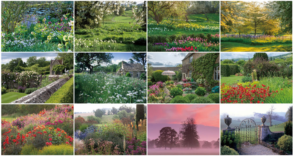 BISES英国庭園散歩 コッツウォルズカレンダー2022