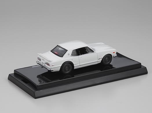 ハコスカ2ドアGT-Rミニカー(白) N2d10th