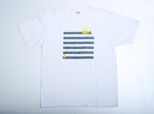 ICTブルドーザTシャツ