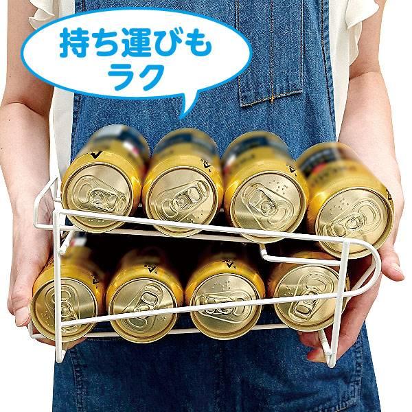 コロコロ缶ラック