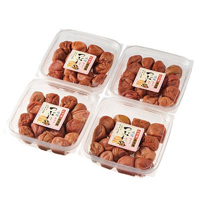 ※●和歌山県産 紀州南高梅つぶれ梅3% 紫蘇漬 2パック組/4パック組