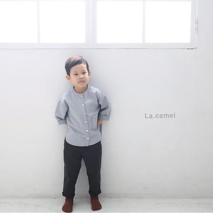 コットンシャツ(La.camel)