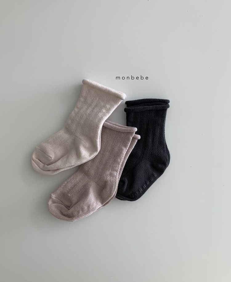 spring socks 3color set(monbebe)