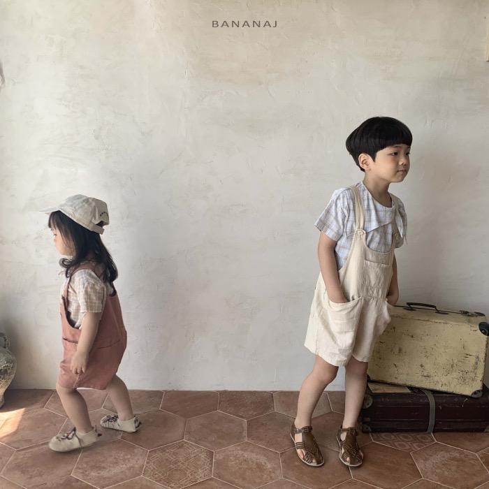 ゆるゆるショートサロペット(BANANA.J)