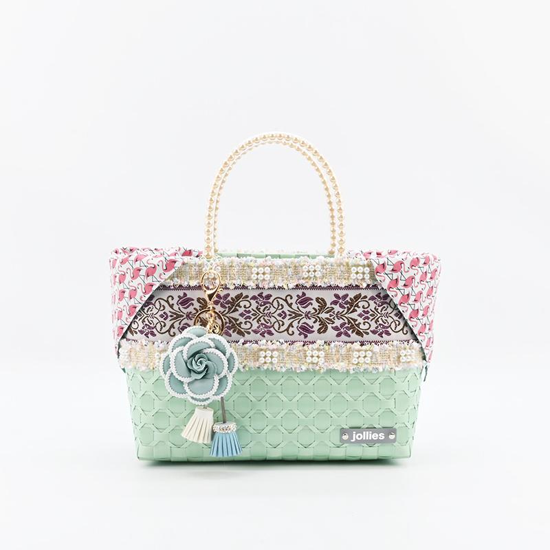 インバッグ フラミンゴ ホワイトグリーン