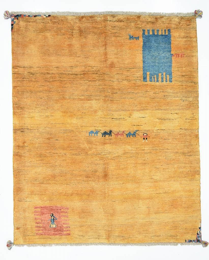 リビングサイズギャッベ156x193