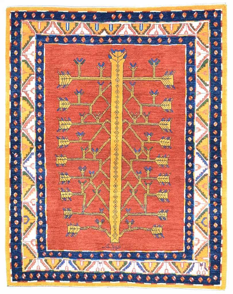 ロリバフギャッベ158x198
