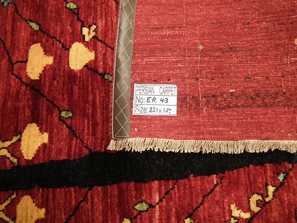 ギャッベ・リビングサイズ 221cmx167cm