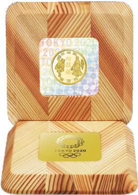 【金貨第二弾】東京2020オリンピック競技大会記念一万円金貨幣プルーフ貨幣セット「勝利」(野見宿禰像)と「栄光」(ギリシャの女神像)と「心技体」」(第三次)【未開封、完全未使用品】