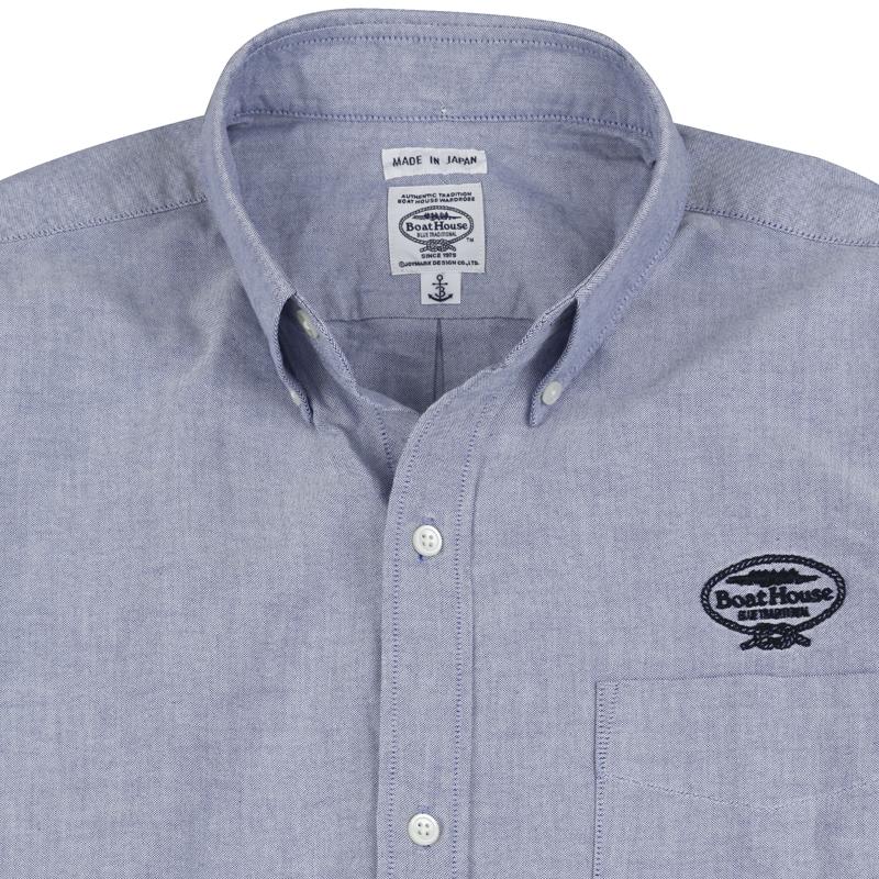 《ボートハウス》BHオックスL/SBDシャツ