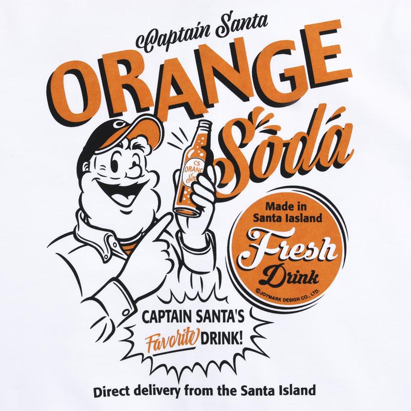 《キャプテンサンタ》ORANGE SODA フロントジップパーカ