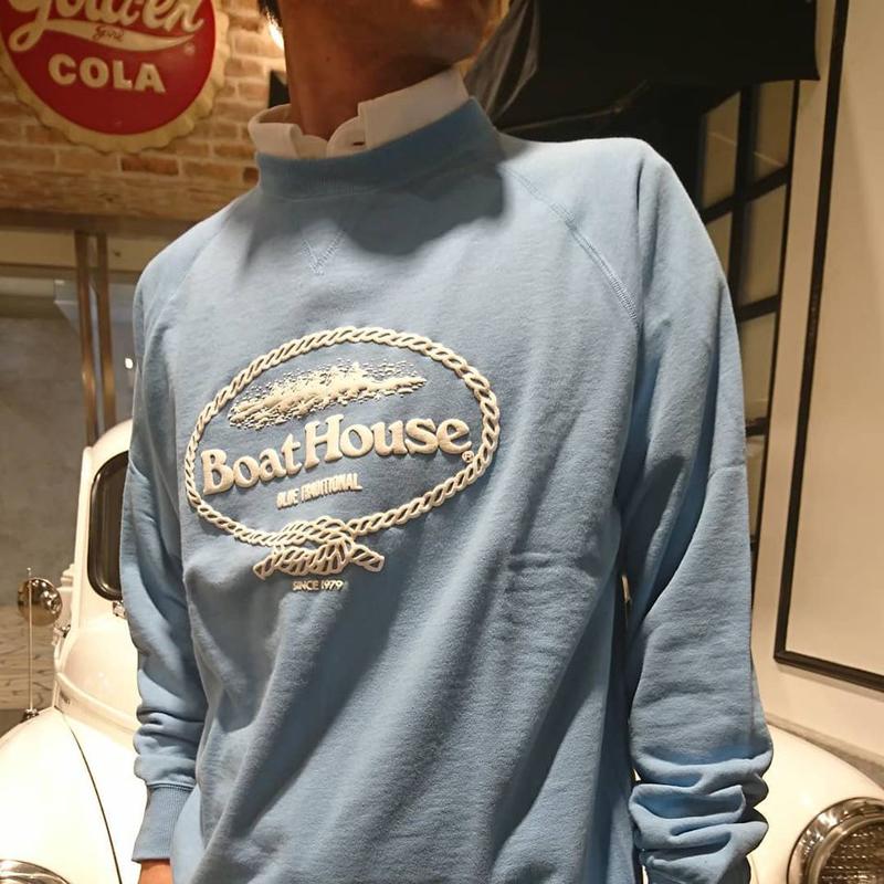 《ボートハウス》BOAT HOUSE スウェットシャツ【ミニ裏毛】