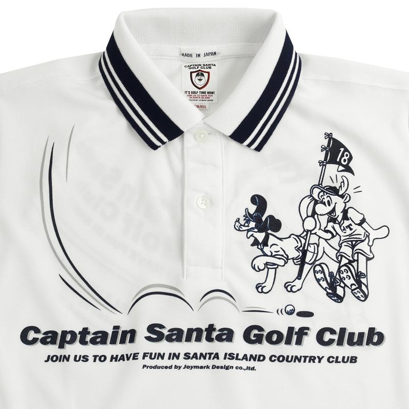 《キャプテンサンタ》CSGC フゾクラインポロシャツ