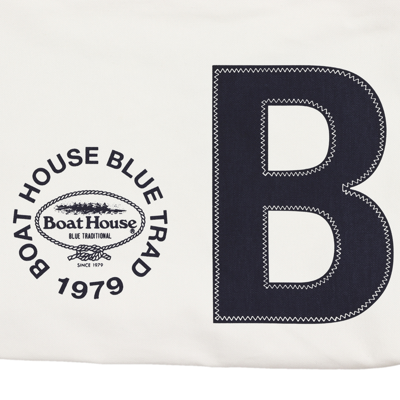 《ボートハウス》BHキャンバストートバッグNO.1(BH)