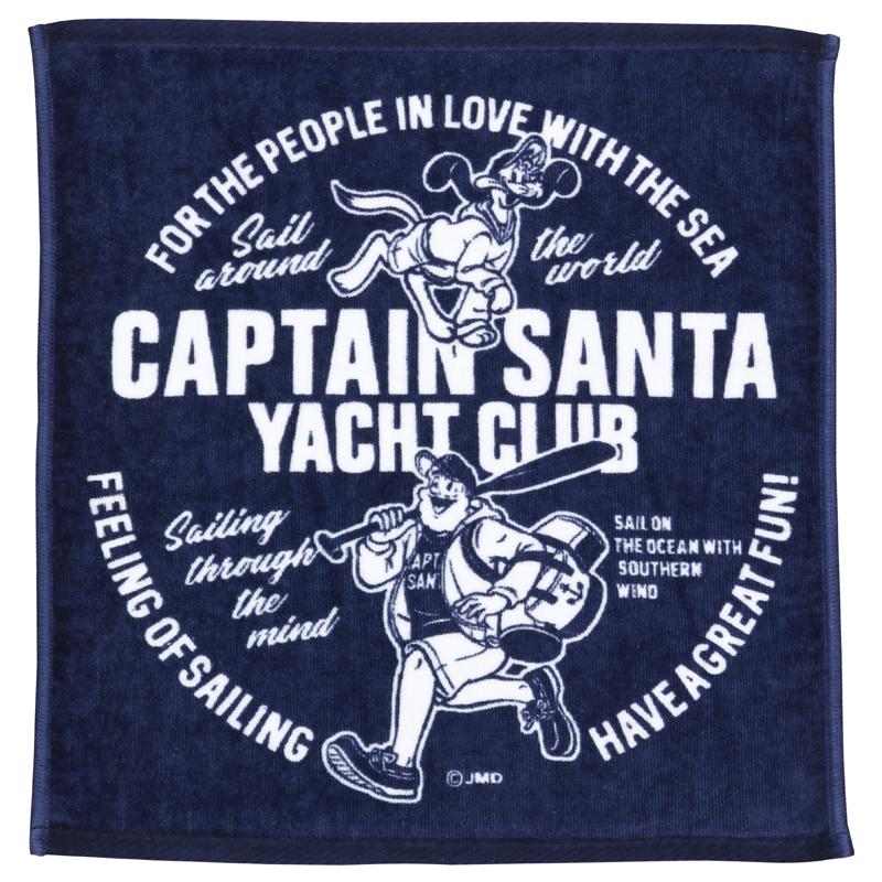 《キャプテンサンタ》 CS YACHT CLUB ハンドタオル