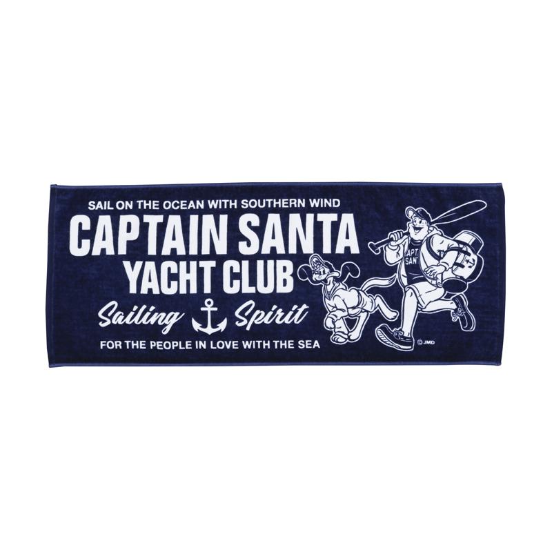 《キャプテンサンタ》 CS YACHT CLUB フェイスタオル