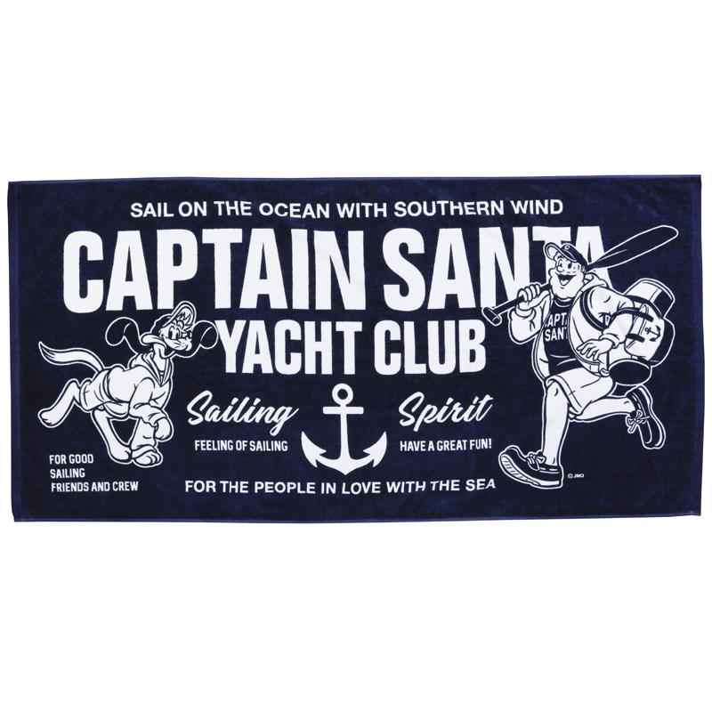 《キャプテンサンタ》 CS YACHT CLUB バスタオル