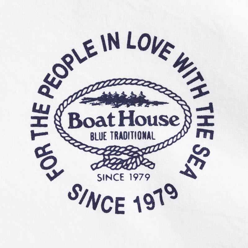 《ボートハウス》タイプライターL/S BDシャツ