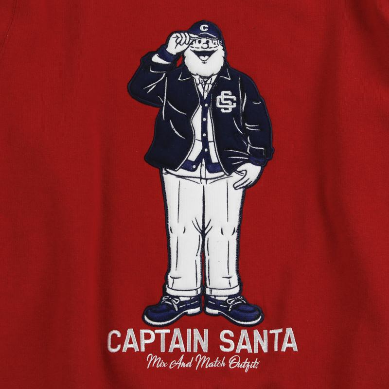 《キャプテンサンタ》ウレタンシシュウトレーナー