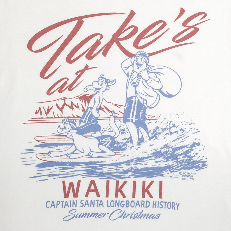 《キャプテンサンタ》CS WAIKIKI サンタTシャツ