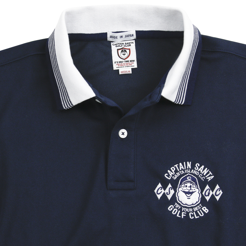 《キャプテンサンタ》CSGC クールマックス クレリックポロシャツ