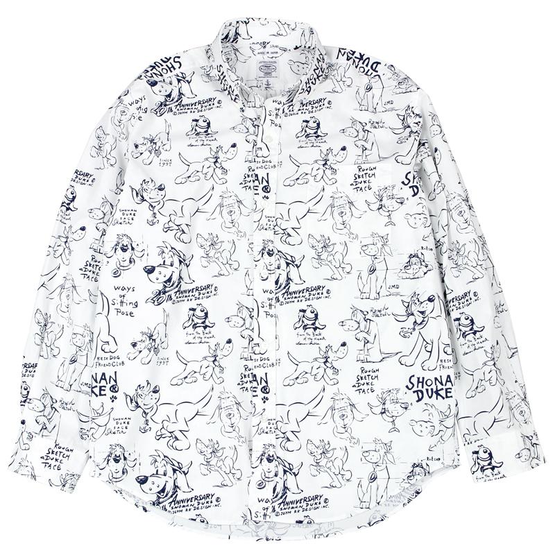 《ショーナンデューク》DUKE 20TH ANN.ソウガラL/SBDシャツ