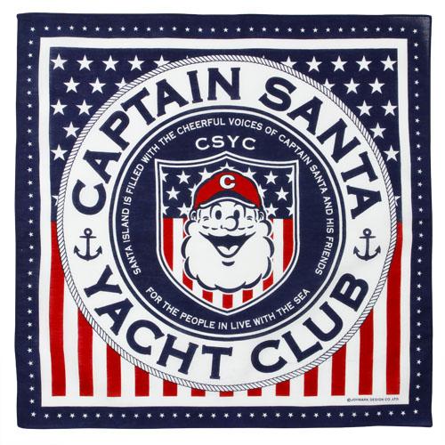 《キャプテンサンタ》星条旗柄バンダナ