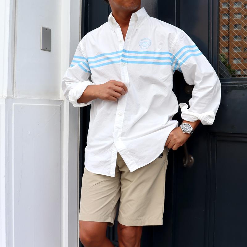 《ボートハウス》スリーラインL/S BDシャツ