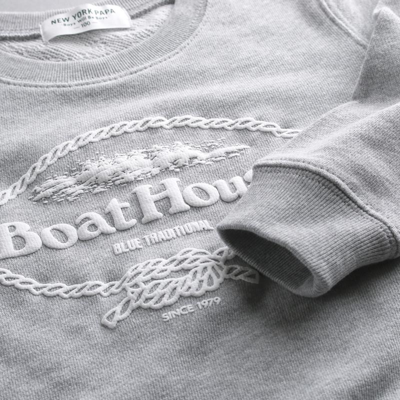 《ボートハウス》ボートハウスKIDSトレーナー【KIDSサイズ】