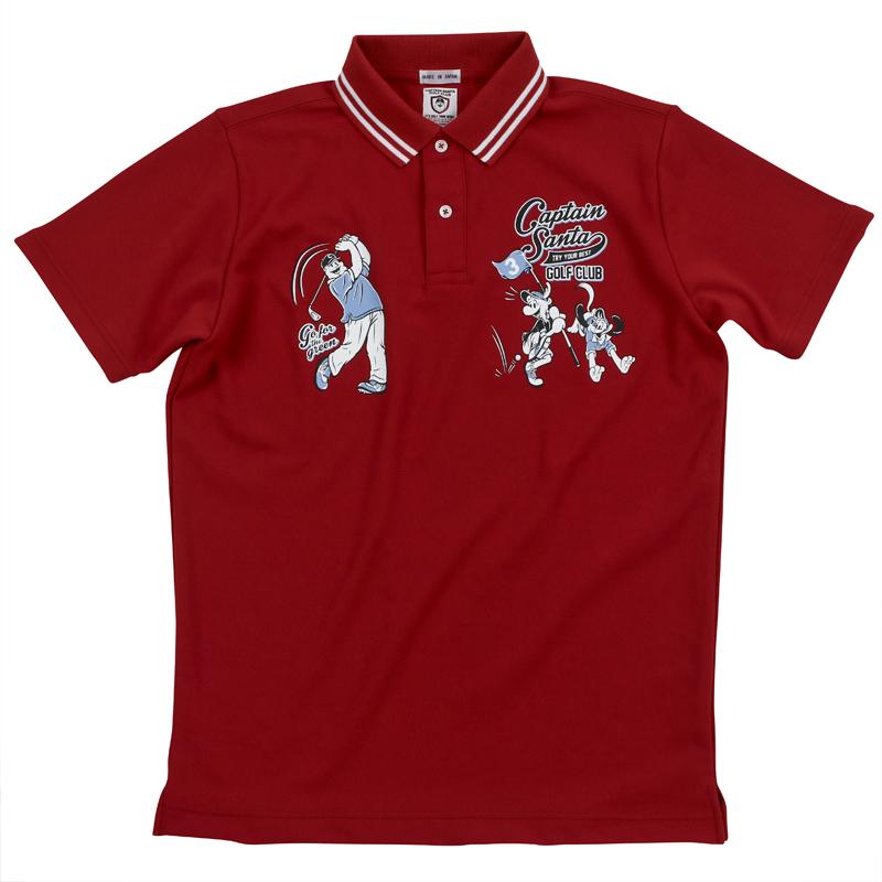 《キャプテンサンタ》CSGCフゾクラインポロシャツ