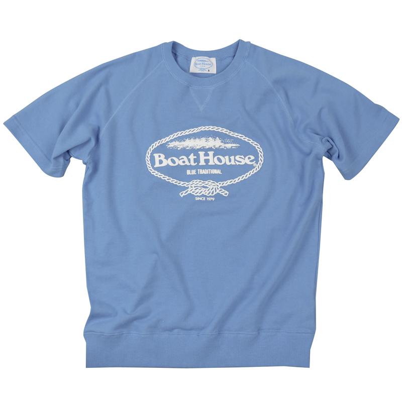 《ボートハウス》BOAT HOUSE S/S スウェットシャツ【ミニ裏毛】