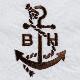《ボートハウス》BHタイプライター配色ステッチL/SBDシャツ